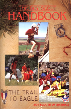 Boy Scout Handbook introduced in 1990
