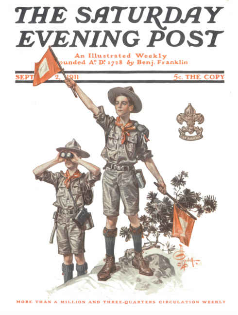 Saturday Evening Post, September 2, 1911