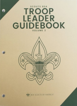 Troop Leader Guidebook, volume 2, 2019 version