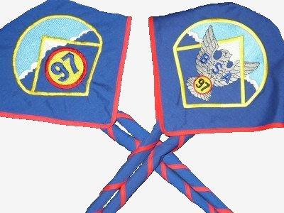 Troop 97 Standard & Eagle Neckerchiefs