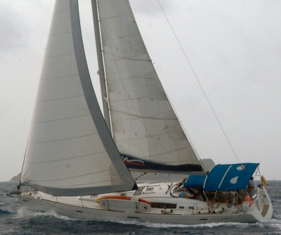 Under Sail in the British Virgin Islands